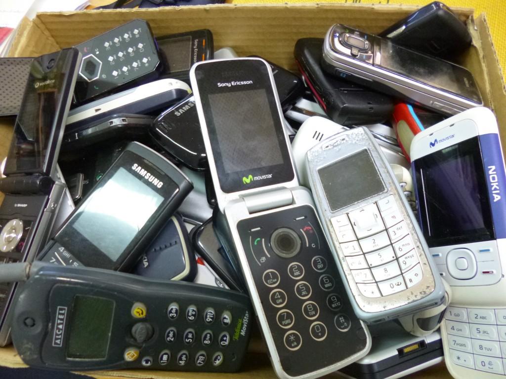 Campaña de recollida de móbiles usados